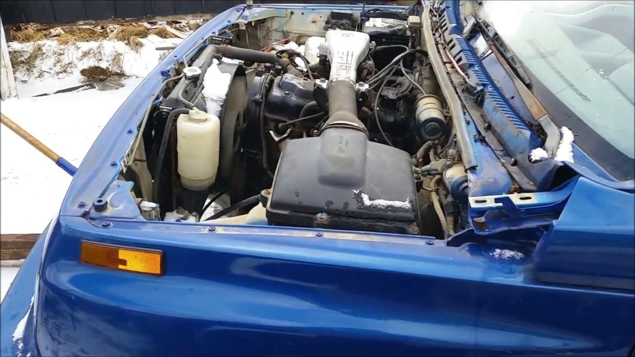 1 6l 8v Engine Swap For An 89 Tracker   Part 2
