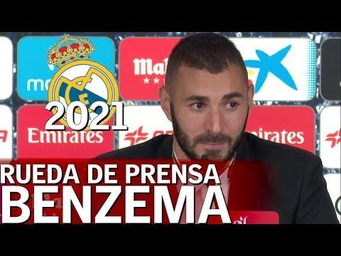 Karim Benzema en rueda de prensa |Diario AS