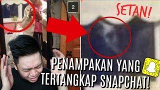 GILA!! PENAMPAKAN SETAN YANG TERTANGKAP SNAPCHAT!! + Paranormal Experience