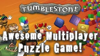 AWESOME Multiplayer PUZZLE GAME (Tumblestone) - What