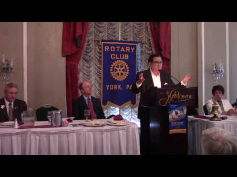 G. Terry Madonna,Presidential Politics,Rotary Club of York, PA, Meeting 7/13/2016