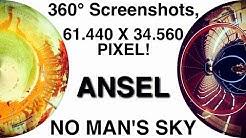 ► No Man's Sky | 360° & 61K Screenshots + FreeCam! | NVIDIA Ansel [German] [HQ]