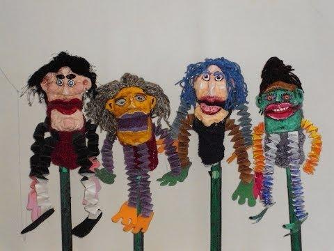 Confection de marionnettes monsieur marc youtube - Comment faire une marionnette ...