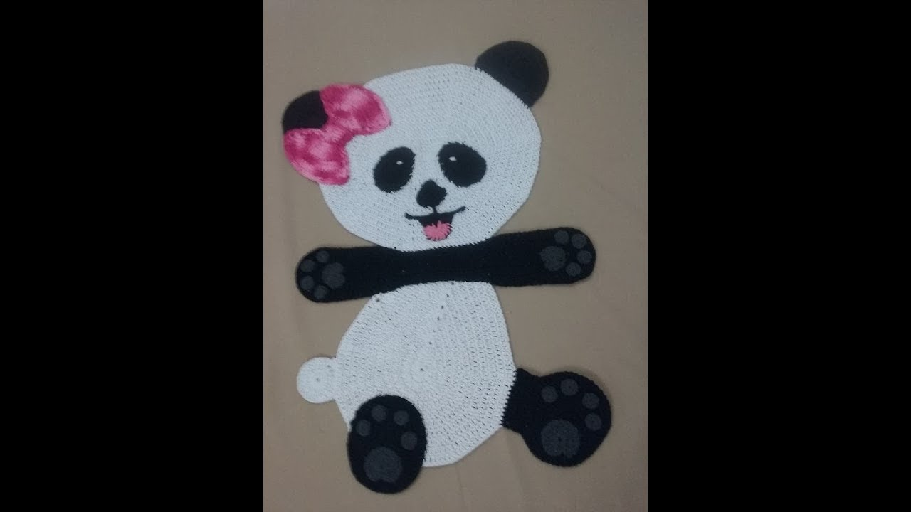 Panda Amigurumi (tutorial) | Bichinhos de croche, Brinquedos de crochê,  Bonecas de crochê | 720x1280