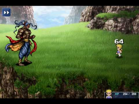 Final Fantasy Vi Boss 4 Vargas Meet Sabin And His Blitz Youtube