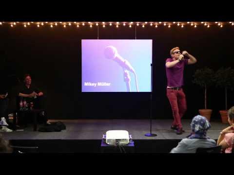 Trailer Slam the Library - Poetry Slam in der UB der TU Berlin, 13.06.2015