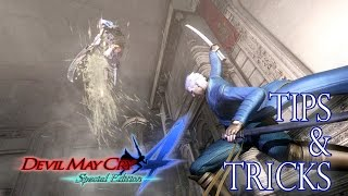 Devil May Cry 4 Special Edition - Air Trick and Aerial Rave B
