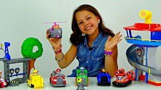 Щенячий патруль - обзор игрушек. Видео для детей