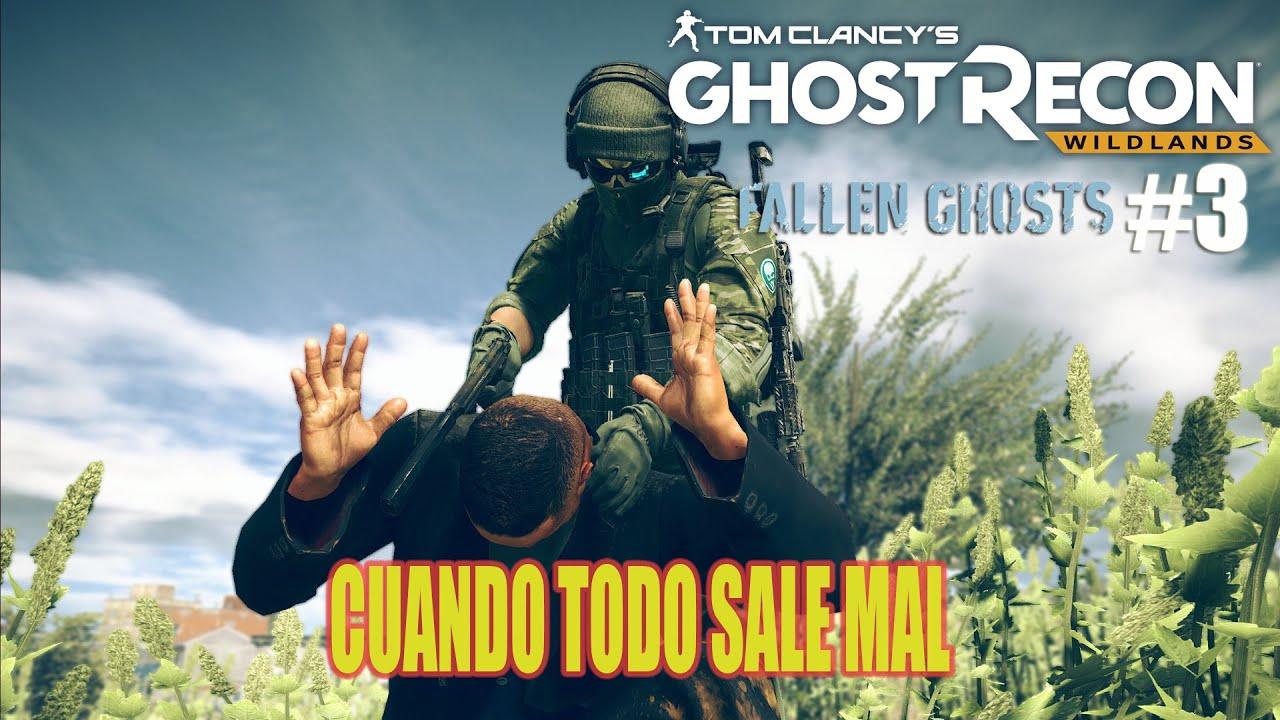 Ghost Recon Fallen Ghost #3 -Rescatando a Perez de la CIA - Cuando todo sale mal