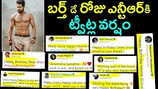 Celebrities Birthday Wishes to Jr NTR | Celebrities Tweets on NTR | Jr NTR Birthday Celebrations