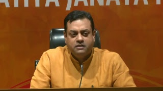 Press by Dr Sambit Patra at BJP HQ, New Delhi