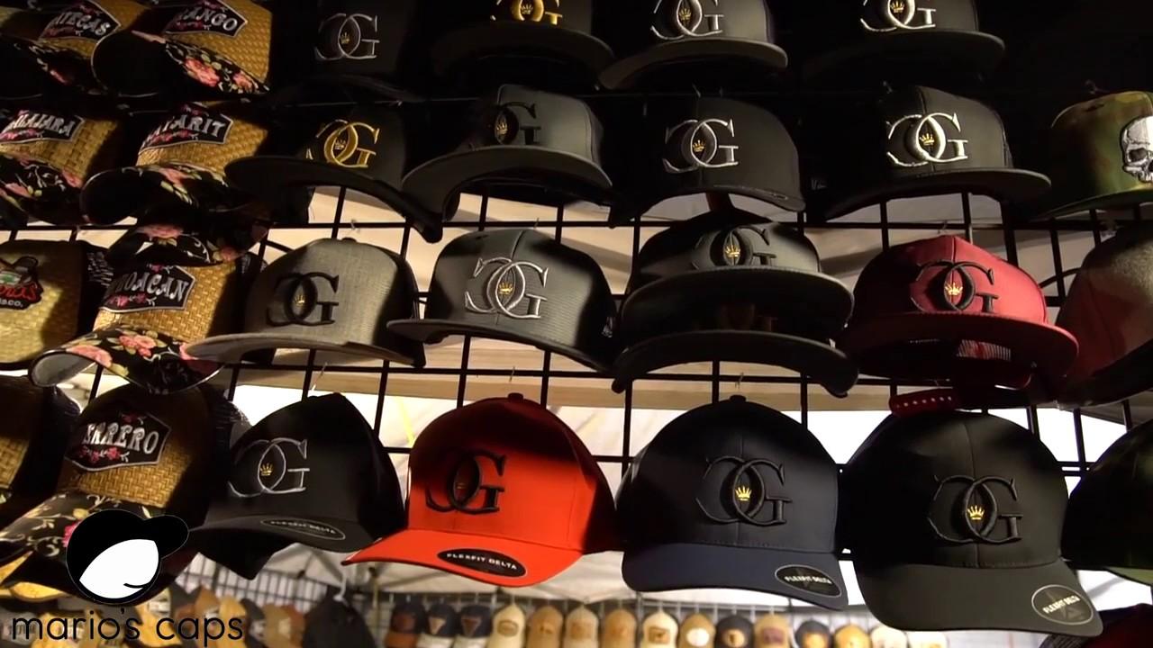 Gran surtido de gorras echas por marioscaps 2017 - YouTube c23274bffdc