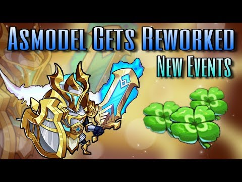 Idle Heroes (O) - Asmodel Reworked and Event Overview!