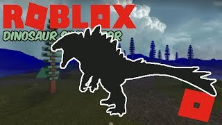 Roblox Dinosaur Simulator - IT'S GODZILLA! (Kaiju Spino Remake Reveal!) + 15 Min KOSer Hunting!