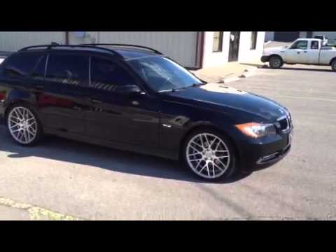 2007 Bmw 328i Wagon 19 Inch Mrr Wheels Gf07 Youtube