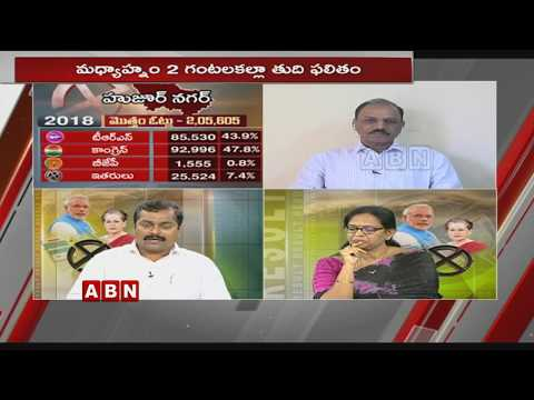 Discussion over Exit Polls Survey On Huzurnagar Bypolls | TRS Vs Congress | Morning Issue | Part 1