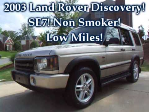 2003 land rover discovery se7 for sale youtube. Black Bedroom Furniture Sets. Home Design Ideas