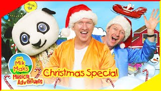 Christmas Songs Compilation | The Mik Maks Christmas Special | Kids Music