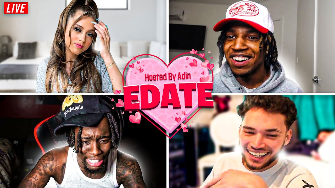 iShowSpeed, Blou, and Kai Cenat Compete for Woah Vicky in Adin's E-Date Show!! *FULL DATE*