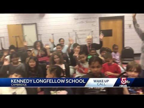 Wake Up Call from Kennedy Longfellow School