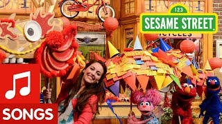 Sesame Street: Chinese New Year Dragon Dance with Elmo and Abby!