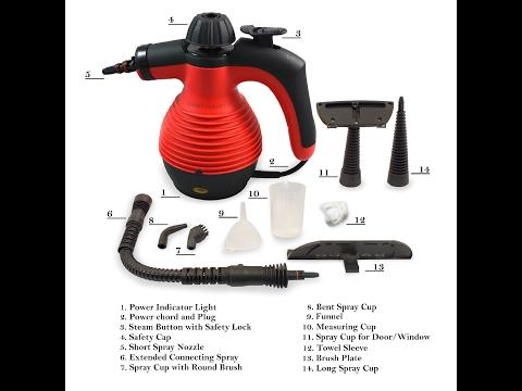 Handheld Multi-Purpose Steam Cleaner