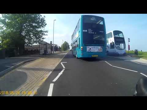 Arriva driver.  Reg NK13AZJ, route #481, Sunday afternoon. Part 1.