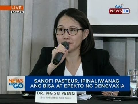 NTG: Press conference of Sanofi Pasteur on dengue vaccine Dengvaxia