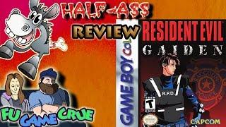 Resident Evil Gaiden (GBC) - Half-Ass Review - FUgameCrue