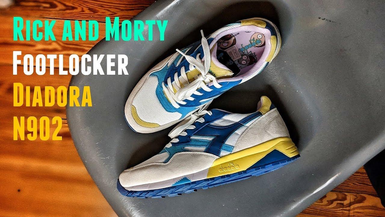 Diadora Footlocker N902 Rick and Morty