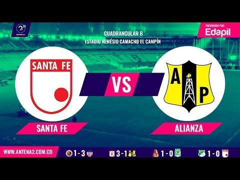 EN VIVO Santa Fe vs Alianza Petrolera