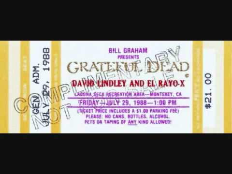 Ain't No Way - David Lindley/El Rayo-X - Laguna Seca Recreation Area - Monterey, CA - 7/29/88