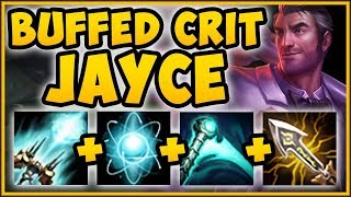WTF RIOT?? BUFFED CRIT ITEMS MAKE JAYCE 100% BUSTED! JAYCE SEASON 9 TOP GAMEPLAY! League of Legends