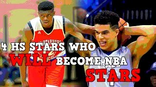 4 High School Basketball Players Who Will Become NBA STARS