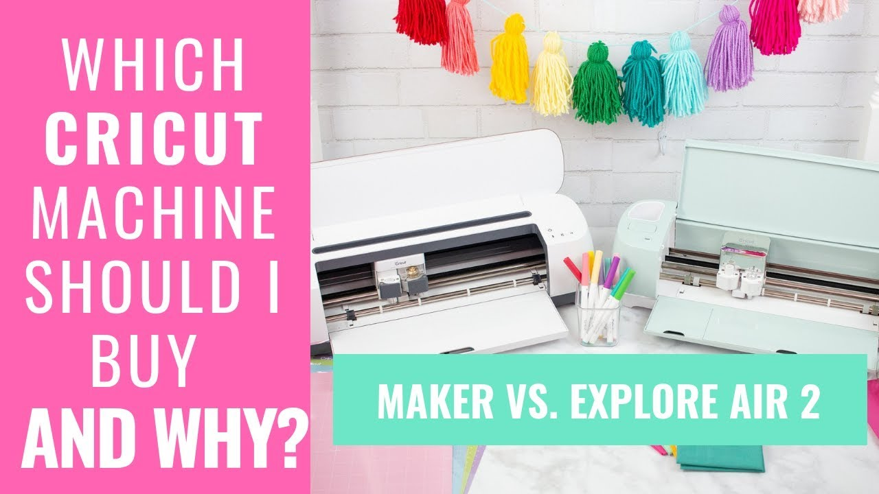 ️ Which Cricut Machine Should I Buy and WHY??? Cricut ...