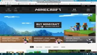 Как зарегистрироваться на сайте Minecraft.net в 2017 году.