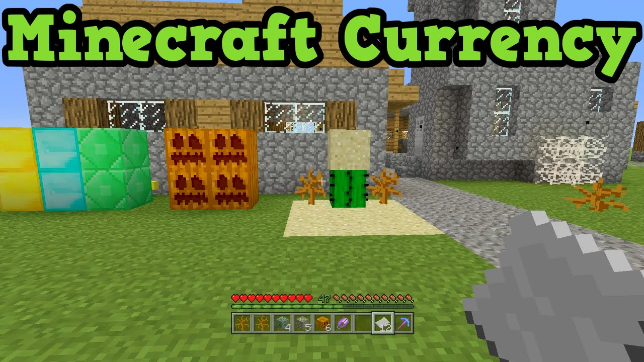 how to add curreny in minecraft