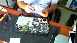 hP 255 G5 disassemble replace RAM replace Harddrive Replace WIFI