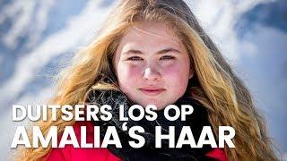 Duitsers gaan los op Amalia's haar