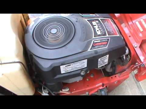 Troy Bilt Super Bronco Running Moving And Mowing