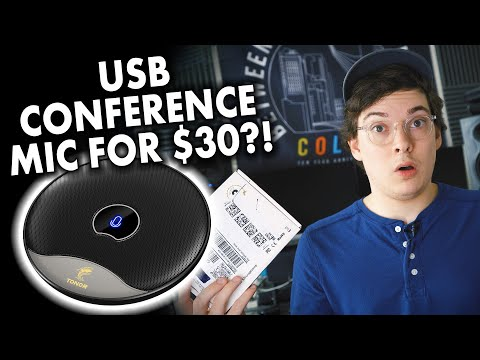 USB Conference Mic for $30?! Tonor TM20 microphone review