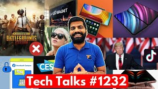 Tech Talks #1232 - PUBG Permanent Ban?, Z Fold 2 Price in India, Folding iPhone, OnePlus Watch, CES