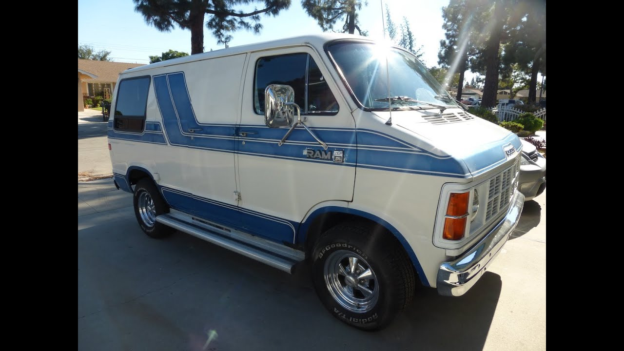 dodge ram van 1984 youtube. Black Bedroom Furniture Sets. Home Design Ideas
