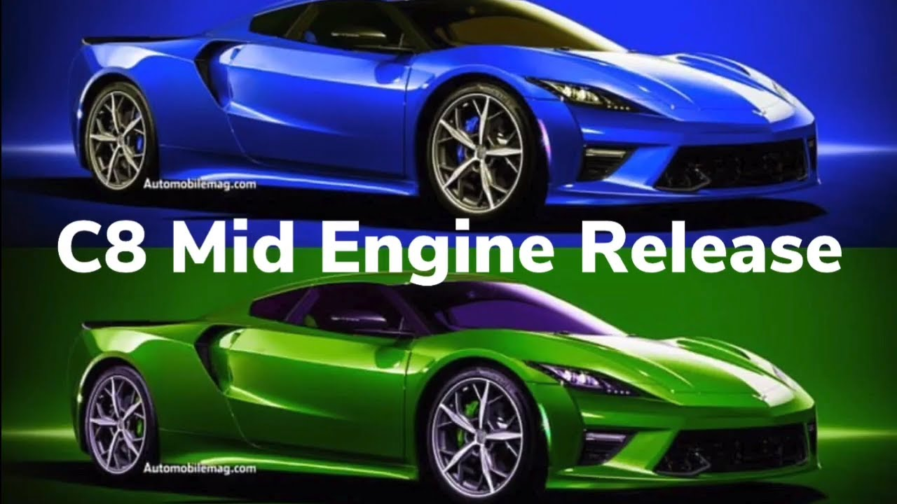 New Corvette 2018 >> Chevrolet released design of the Chevy C8 Mid Engine Corvette - YouTube