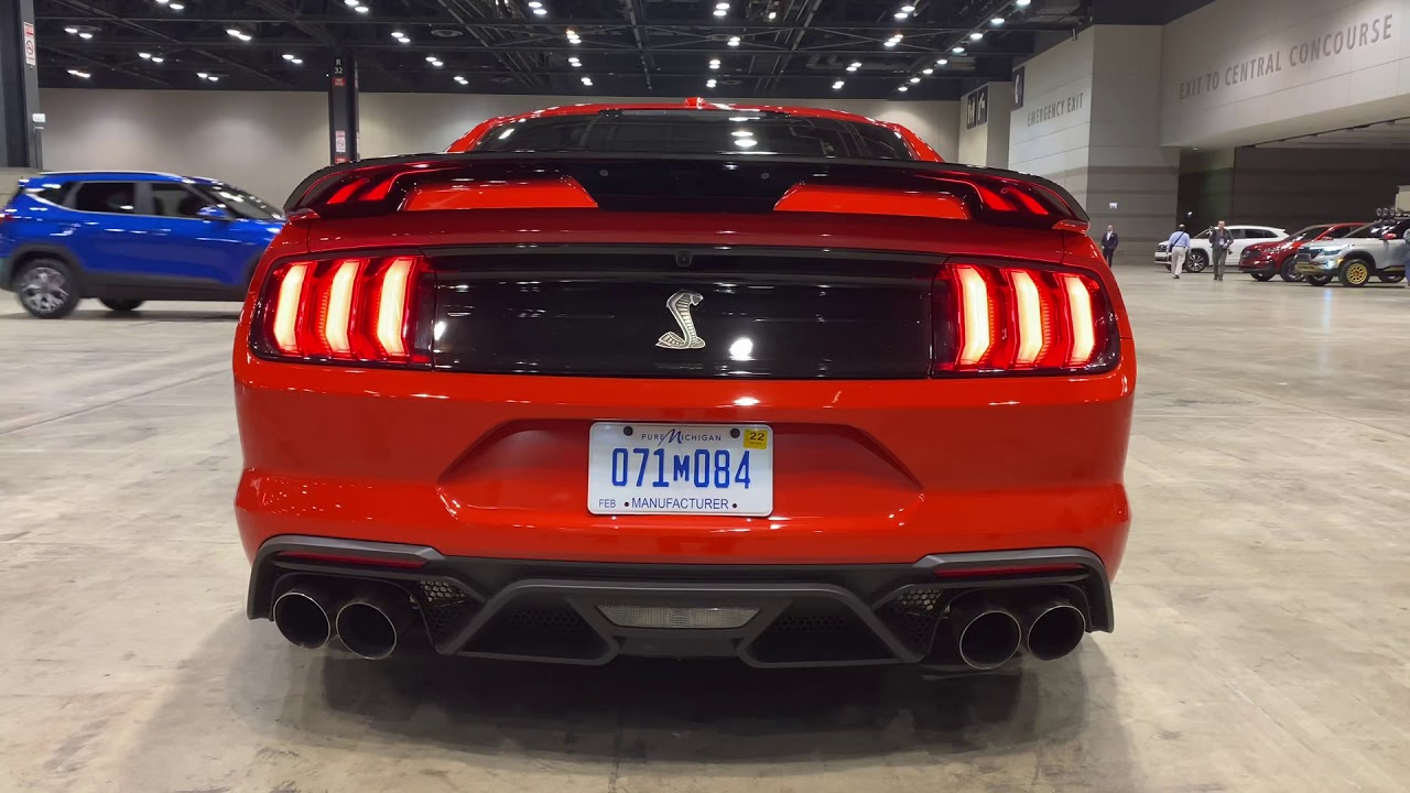 2020 ford mustang shelby gt500 exhaust note and revs cas2020