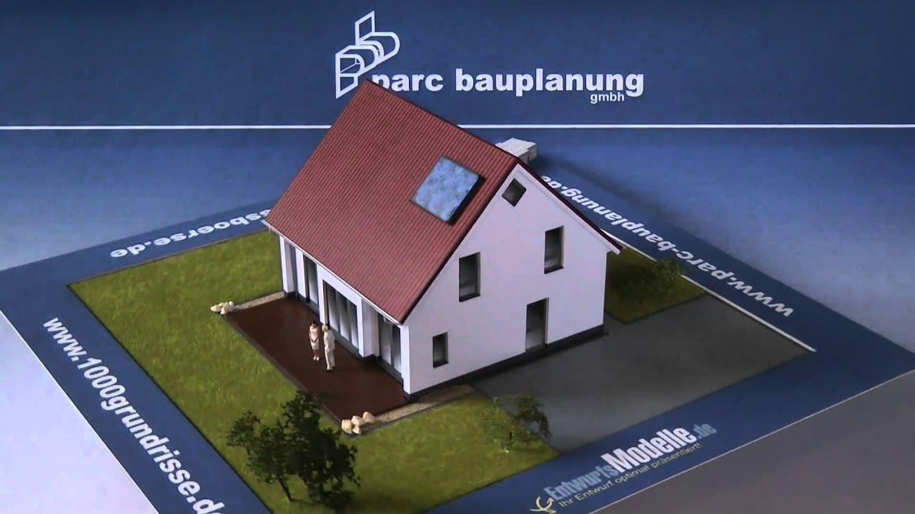 Kompakthaus mit satteldach und 110qm wohnfl che parc for Parc bauplanung