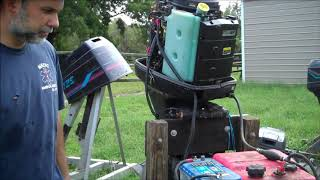 How to check out an outboard motor that you are buying