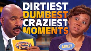 Download 2019's DIRTIEST, DUMBEST & CRAZIEST MOMENTS! Watch till the end! | Family Feud Mp3 and Videos