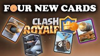 Flying Machine | Mega Knight | Cannon Cart | Skeleton Barrel | NEW CARDS!