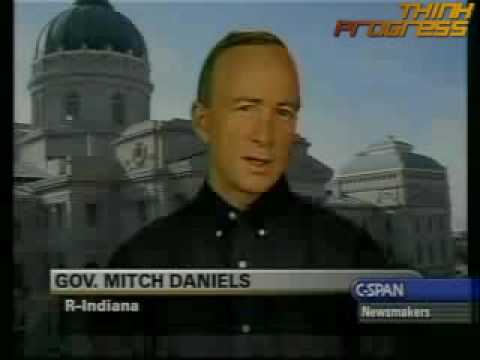 Gov. Mitch Daniels 6 questions climate change science